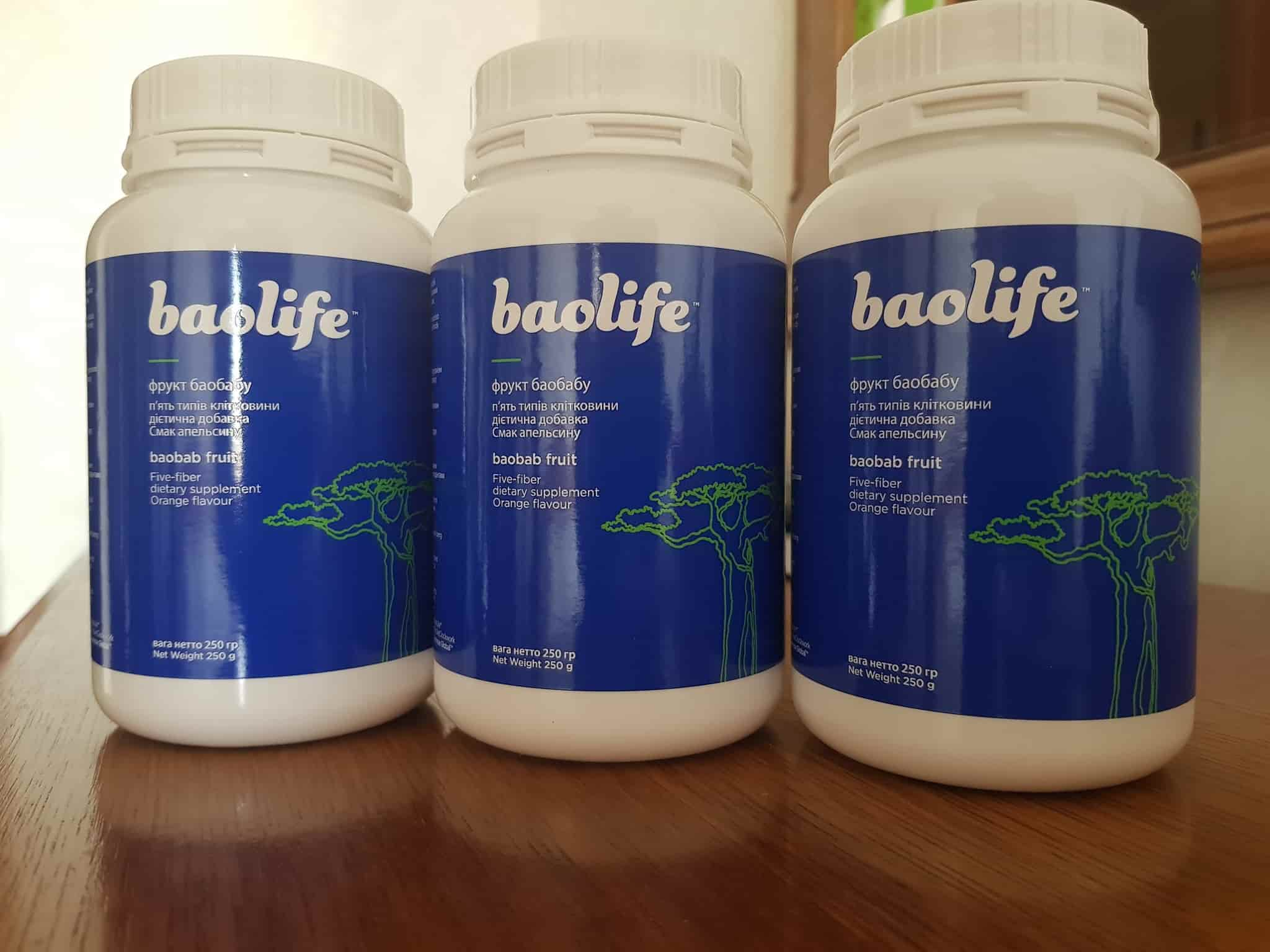 новая банка baobab life (baolife)