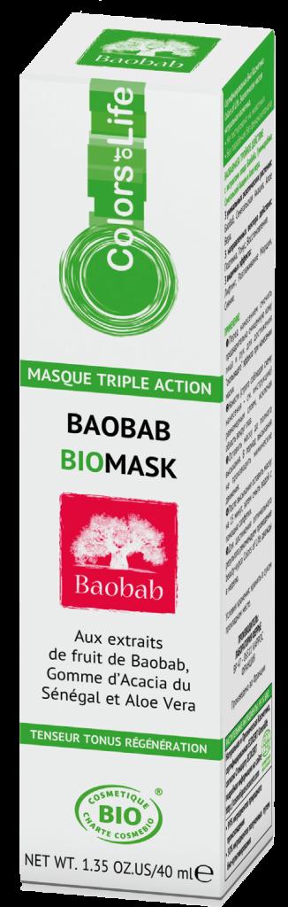Маска для лица из Баобаба
