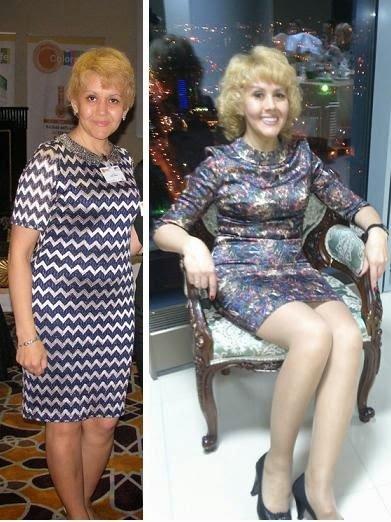 Вилена Яхина - ДО - после