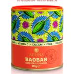 Порошок суперфрукта Баобаб компании Aduna (производство Великобритания) Цена 11 евро за 80 грамм -- BAOBAB SUPERFRUIT RICH IN VITAMIN C. FIBRE. ANTIOXIDANTS. Made in UK-Gambia 80 gram 11 euro -- aduna.com