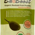 """BaoBab Fruit Powder """"BaoBoost ™ -- Органический порошок из Баобаба BaoBoost (компания BioessenceTrade) -- BioessenceTrade Charlotte, NC www.bioessencetrade.com/"""