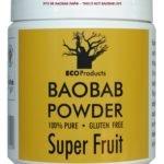 Superfruit Baobab Extract powder by ECOProduct (SAR) - Rich in vitamin C, calcium and magnesium 200g or 400g -- Баобаб экстракт порошка компании Экопродукт (ЮАР) - с витамином С, кальцием и магнием -- www.ecoproducts.co.za/