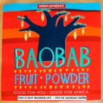 Baobab Fruit Powder by Eden Project Shop - full of vitamins, minerals and anti-oxidants – Made in UK - 200 gram - Порошок из плодов дерева Баобаб – богат витаминами, минералами и антиоксидантами. Сделано в Великобритании -- edenproject.com