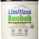 Органический порошок из плодов баобаба компании Limitless (США), 360 грамм -- Limitless Baobab Fruit Powder with fiber and anti-oxidants, 360 grams, 100% Certified USDA Organic (Northampton, MA, USA) - Price: $32.95 -- http://limitlessgood.com/