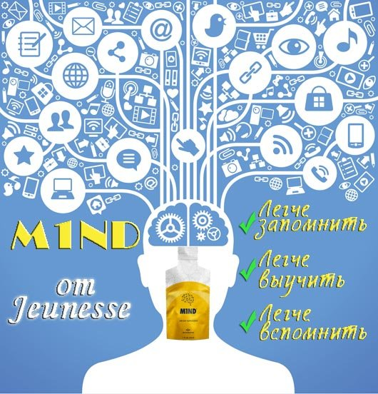 m1nm (mind) by Jeunesse Global USA -- support memory and reduce mental distraction. BaobabLife.net internet-shop