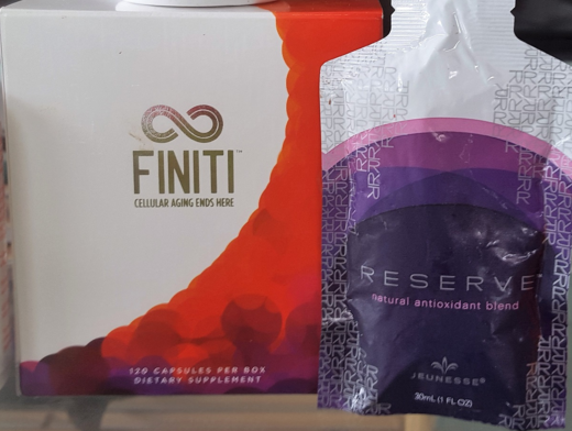 Reserve and Finiti by jeunesse-global. Which is best for rejuvenation and anti-aging?