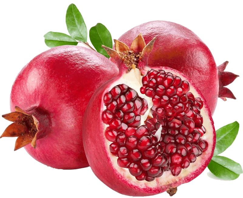 Красивые плоды граната png без фона