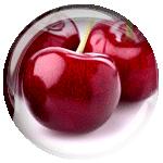 черешня png без фона (прозрачный фон)