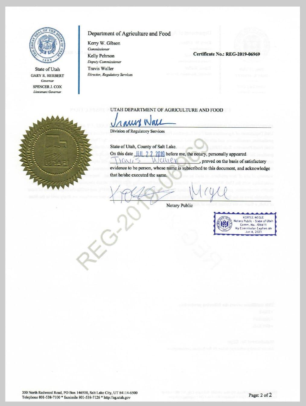 Сертификат Elev8 (США)