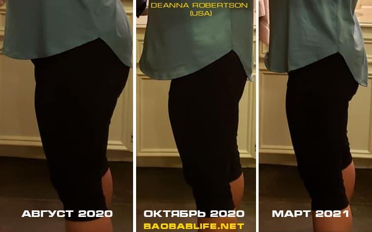 Результат по похудению с Elev8 (женщина из США)