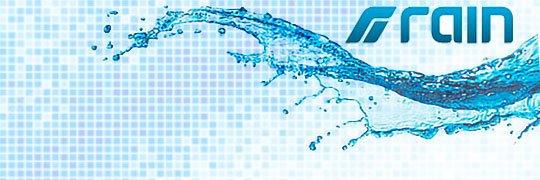Логотип компании Rain International