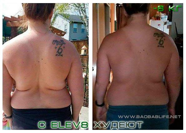 Снижение веса при приеме Элев 8