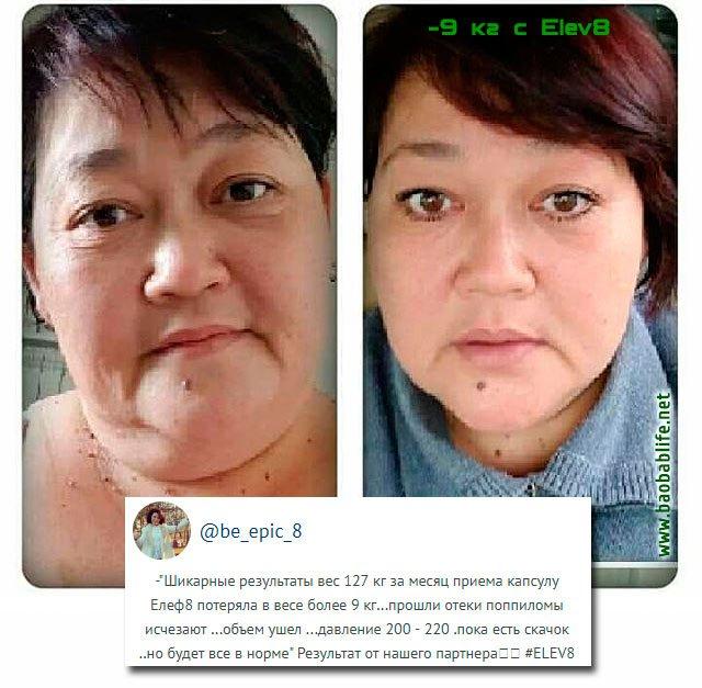 Елев8 результаты похудения