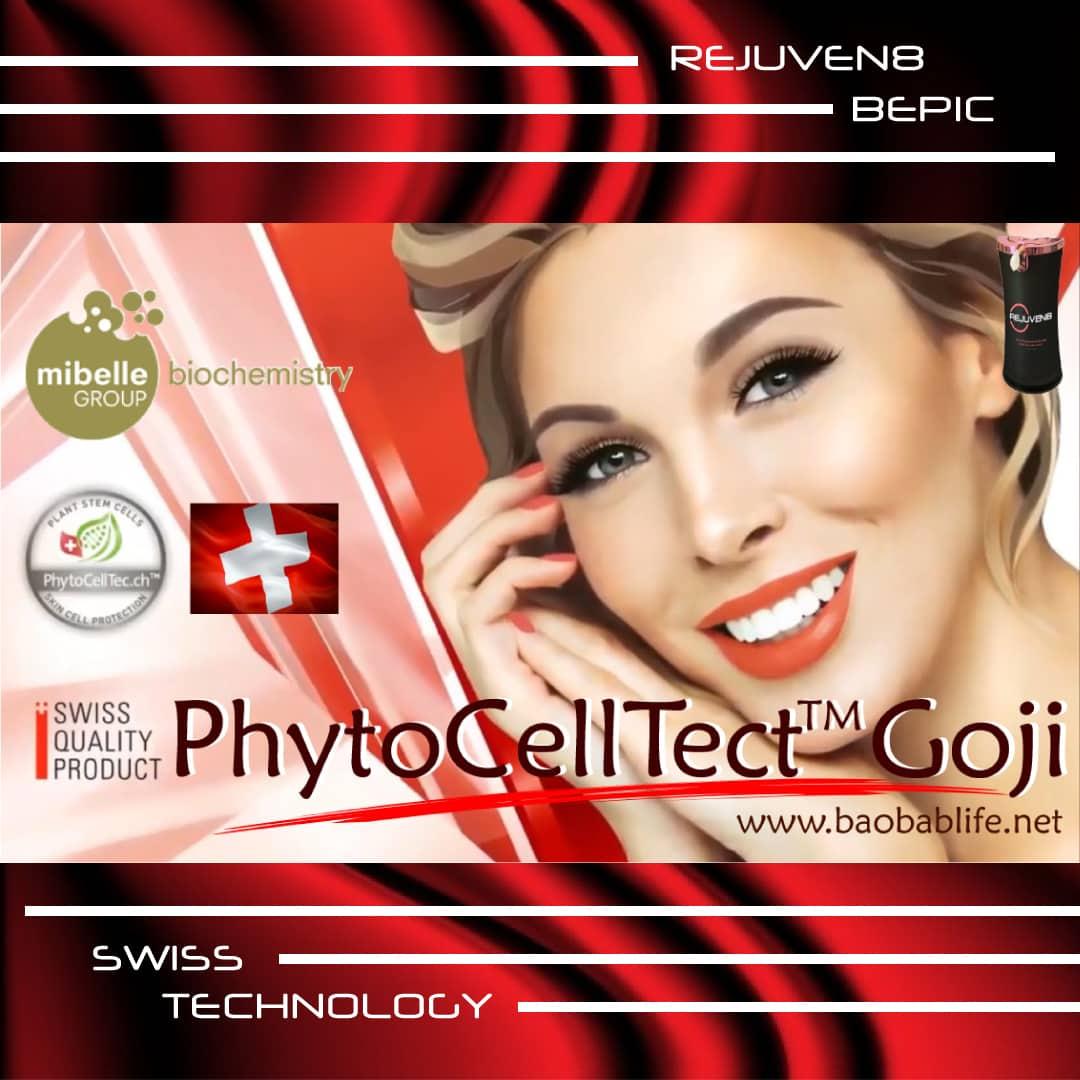 Rejuven8 - это швейцарская технология извлечения стволовых клеток годжи