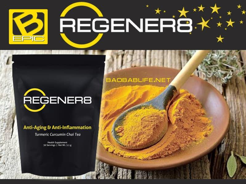 Чай с куркумой Regener8 компании Best BEpic